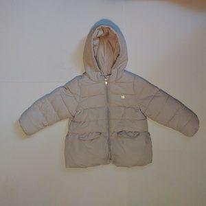 ZARA baby girl puff jacket outwear size 2/3